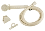 Dura Faucet Bisque RV Shower Head & Hose Kit