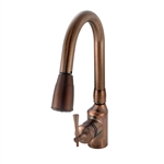 Oil Rubbed Bronze Pull Down Kitchen Faucet