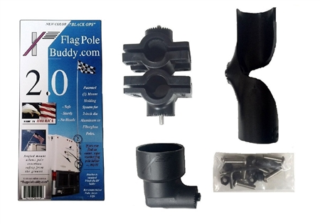 Flagpole Buddy 106201M Ladder Mounts Only - 2""
