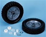 Tote-N-Stor 43115 Replacement Wheels For RV Waste Tanks