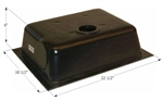 Icon 8 Gallon RV Holding Tank - Bottom Drain HT630ABD