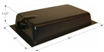 Icon 10 Gallon RV Holding Tank - Center End Drain HT620ED