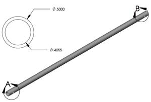 Lippert 119141 18'' Slideout Manual Crank W/ Roll Pin