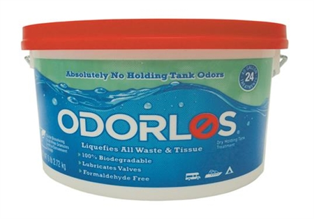 Odorlos RV Holding Tank Chemicals, 6 lbs. Dry