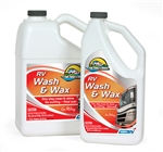 Camco 40497 RV WASH & WAX 1 gallon bottle