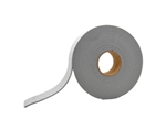 "AP Products 018-141125 Grey Mylar Backed PVC Foam Tape - 1/4"" x 1 1/2"" x 30'"