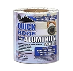 "CoFair Products Quick Roof Aluminum White Roof Repair Tape - 6"" x 25'"