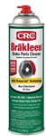 CRC Industries 05050 Brakleen Brake Cleaner - 14 Oz