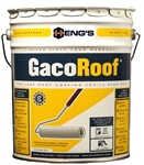 Heng's HGR1600-5 GacoRoof Silicone Roof Coating - 5 Gallon White