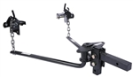 Husky Towing 31421 Round Bar Weight Distribution Hitch - 400-600 Lbs