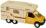 RV Die Cast Collectible Mini Motor Home