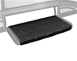 Prestofit Wraparound +Plus RV Step Rug, Black - 20""