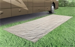 Prest-O-Fit 2-3031 Aero-Weave Santa Fe Outdoor RV Mat - 7-1/2' x 20'