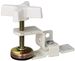 RV Designer E515 Fold-Out Bunk Clamp, White