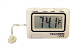 Prime Products RV Refrigerator Thermometer & Clock