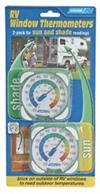 Camco 44313 Window Thermometers, 2 Pack