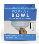 Camco 57211 White Pop-A-Bowl Dispenser