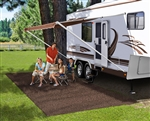 Prest-O-Fit 2-1150 RV Patio Rug - Espresso - 6' x 15'