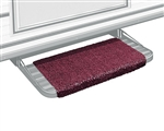 "Prestofit Wraparound RV Step Rug, Burgundy Wine 18"" W"