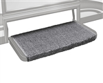 Prestofit Wraparound +Plus RV Step Rug, Gray - 20""