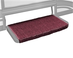 Prestofit Wraparound +Plus RV Step Rug, Burgundy - 20""