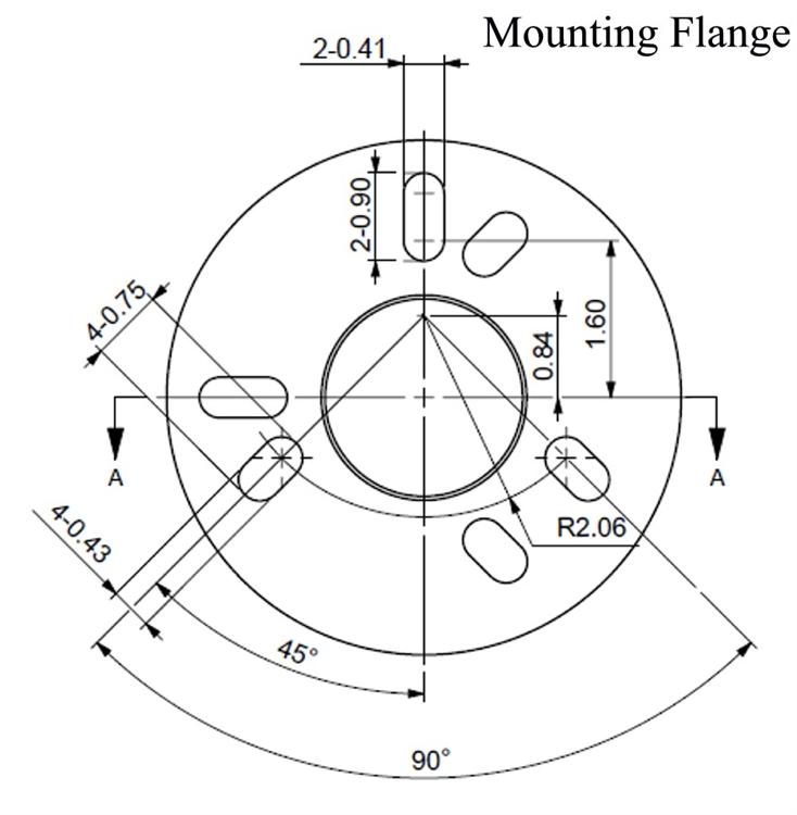 Ultra-Fab 38-944037 Electric Tongue Jack With 7 Way Plug