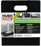 "Technoflex HP1214 Hush Pad Anti-Vibration Stabilizing Jack Support Pad - 12"" x 14"""