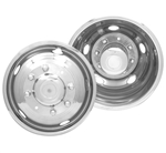 Dicor 19.5˝ x 6.75˝ 8 lug, 5 Hand Hole Versa-Liner Wheel Set - 1999-2002, Ford Super Duty