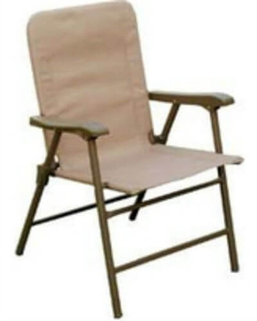 Prime Products 13-3346 Elite Folding Chair - Arizona Tan