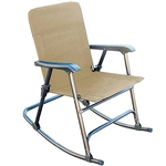 Prime Products 13-6506 Elite Folding Rocking Chair Tan