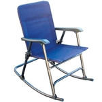Prime Products 13-6501 Elite Folding Rocking Chair California Blue