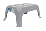 Camco 43470 Gray Plastic Step Stool - Large