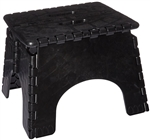 E-Z Foldz Step Stool, Black