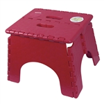 E-Z Foldz Step Stool, Burgundy