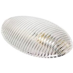 Arcon 51299 RV Porch Light Clear Replacement Lens