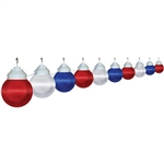 Polymer Products 16-99-00515 String Lights- Patriotic, Set Of 10