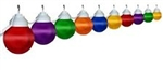 Polymer Products 16-61-00515 Globe String Lights-Multi-Color