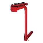 CURT 1801901 Single Arm Bike Rack Bright Red