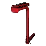CURT 1801902 Single Arm Bike Rack Dark Red