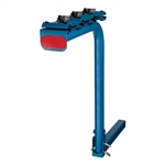 CURT 1801904 Single Arm Bike Rack Bright Blue