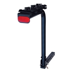 CURT 1801905 Single Arm Bike Rack Dark Blue