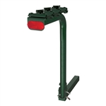 CURT 1801906 Single Arm Bike Rack Dark Green
