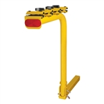 CURT 1801910 Single Arm Bike Rack Yellow