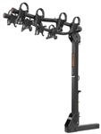 Curt  Premium Hitch Mounted Bike Rack: 4 Bike