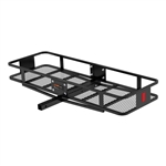 Curt 18130 2 Piece Basket Cargo Carrier With Fixed Shank