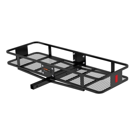 Curt 2 Piece Basket Cargo Carrier With Fixed Shank