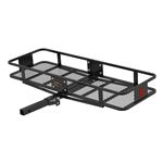 Curt 18131 2 Piece Basket Cargo Carrier With Folding Shank