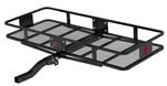 Curt 18132 2 Piece Large Basket Cargo Carrier With Folding Shank