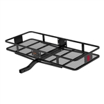 Curt 18133 2 Piece Large Basket Cargo Carrier With Fixed Shank