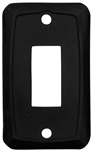 Valterra DG115VP Single Switch Wall Plate - Black